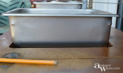 DIY ~ Upcycled Repurposed Sewing Table To Drink Station ~ Ambient Wares