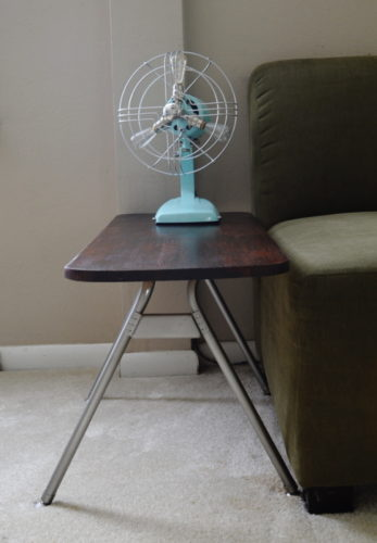 Industrial Styled Vintage Jack Frost Fan Repurposed into a Lamp ~ AmbientWares.com