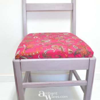 Use A Piece of Clothing to Recover A Chair