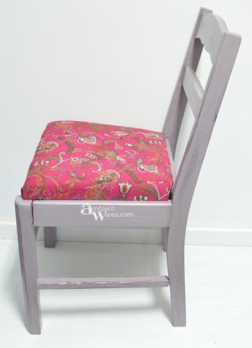 Use A Skirt To Recover A Chair Seat