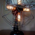 This was the very first fan to lamp we madehellip