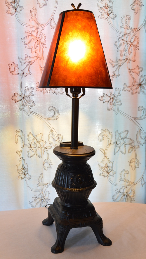 Vintage Standing Ashtray Base Refurbished Into A Lamp ~ ambientwares.com
