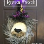 This wickedly beautiful Raven Wreath by acrosstheblvd is one ofhellip