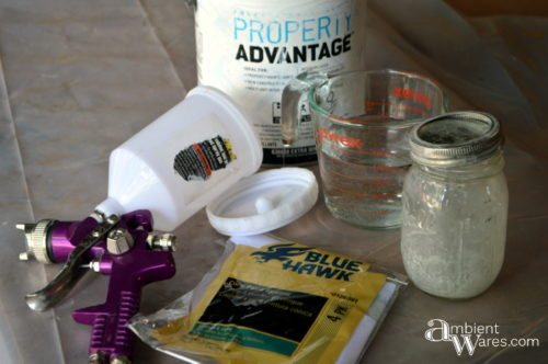 Paint sprayer supplies by AmbientWares.com