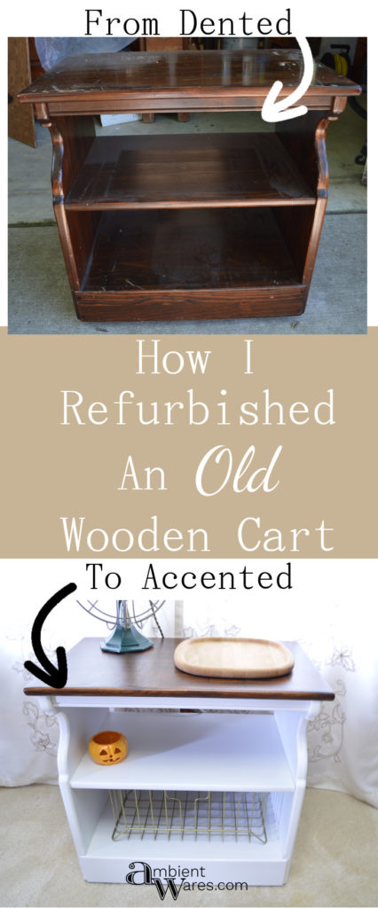 How I Refurbished An Old Wooden Cart
