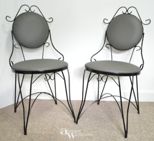 "Sleek ""New"" Bistro Chairs ~ ambientwares.com"