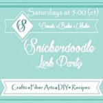 Snickerdoodle Create Bake Make Party Button
