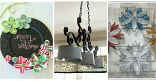 Here are my faves from last week's Funtastic Friday Party! @dazzlewhilefrazzled @savvyapron  @wesens_art  Stop by and check 'em out! Link in profile . . . #holidays #crafts #homedecor #ornaments #homeinspo #instahome #easycrafts #frugal #funtasticfriday #linkparty #ontheblog #christmas #farmhouse #lighting #diy #diyblog