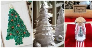 Woohoo! It's time for Funtastic Friday 103! Check out my faves at ambientwares.com! . . Button tree by @carielle, paper tree by @priyamsimplejoys, & bottle pines & placecards by @buildingourhive! . . . #diy #christmas #homemade #homedecor #christmasdecor #prettylittlethings #diylittlethings #diyblog #linkparty #ontheblog #onestopshop #ambientwares #easycrafts #simple # projects #crafts #party #placecards #tinybottles #dinnerparty #christmastree #papercraft