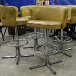 Work today entailed bringing these vintage Daystrom Bar Stools downhellip