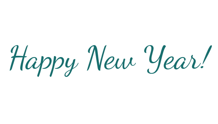 Happy New Year from Angie at ambientwares.com