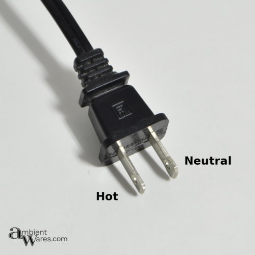 Lamp Cord Plug