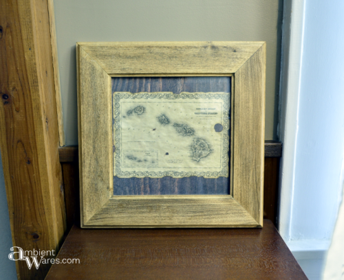 A great handmade gift doesn't have to be hard. Try taking an image of something you know they'd love & give it an antiqued feel
