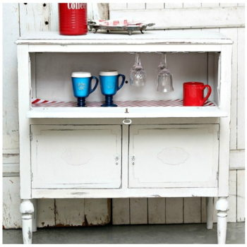 Upcycled Beverage Cabinet - Funtastic Friday 113 Featured