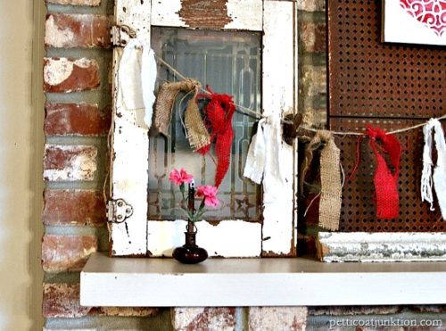 Funtastic Friday 113 - Most Viewed - burlap-garlands-and-red-stenciled-heart
