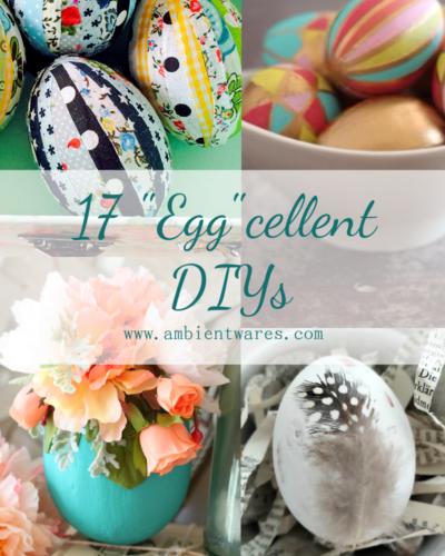 """17 """"Egg""""cellent DIYs!"""