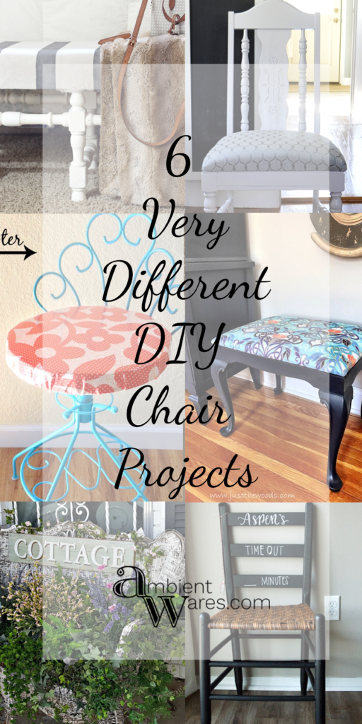 6 Very Different Chair Makeovers