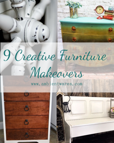 9 great furniture makeovers to spark ideas for your own DIY adventures!