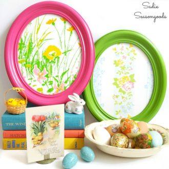 Oval Frame Easter Eggs - sadieseasongoods.com