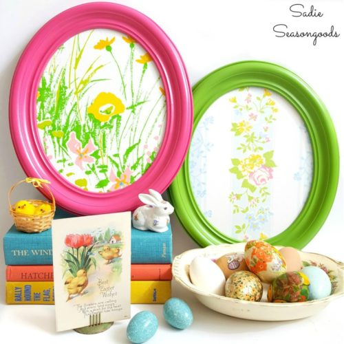 Funtastic Friday 119 - Most Viewed - Oval Frame Easter Eggs