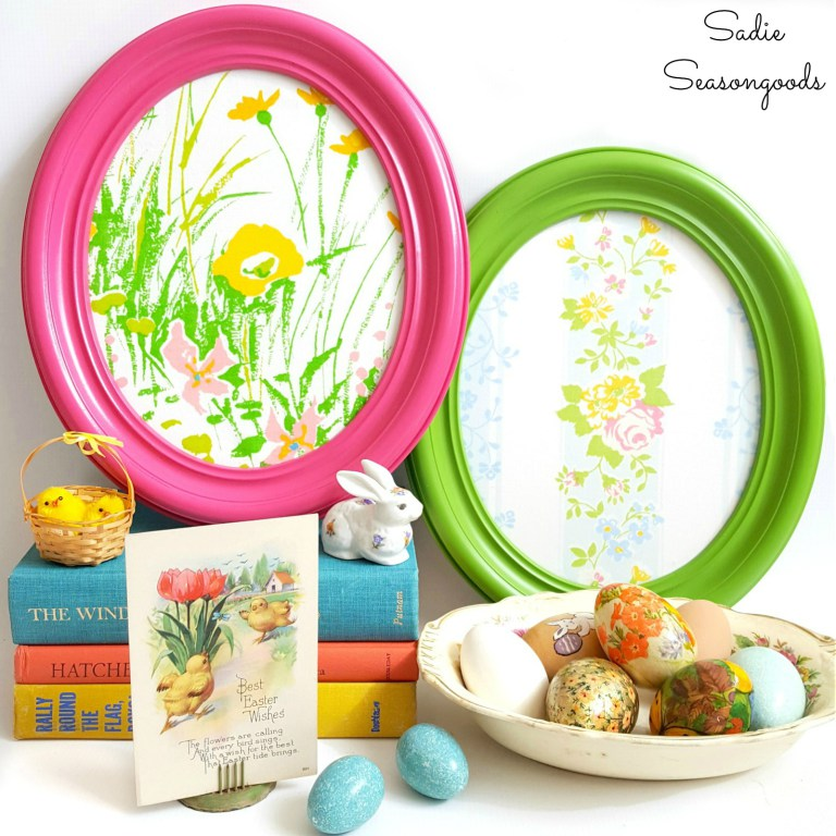 Oval Frame Easter Eggs - sadieseasongoods.com