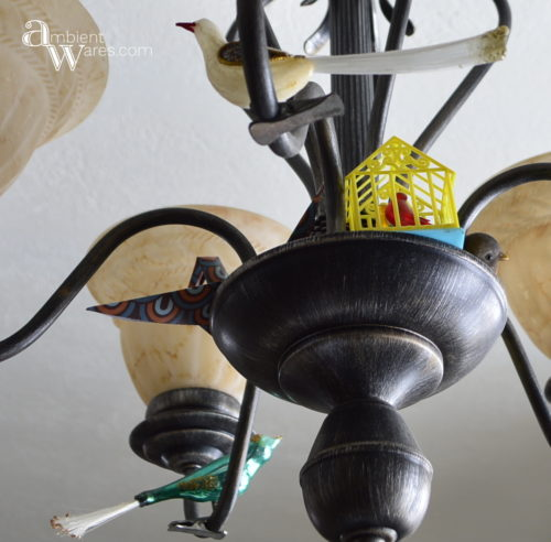 Chandelier_with_my_bird_collection_Crafty_Spring_Wreath_From_A_Basket_Put_A_Bird_On_It_ambientwares.com