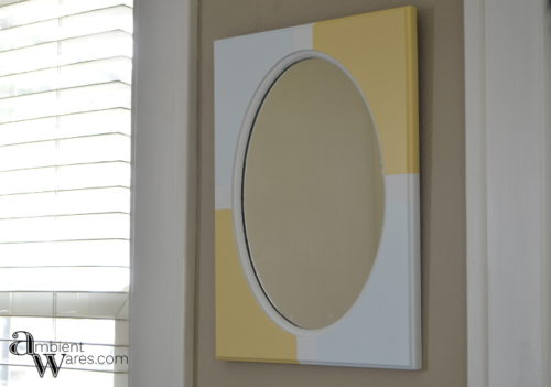 Easy_DIY_Painted_Wooden_Framed_Mirror_ambientwares.com