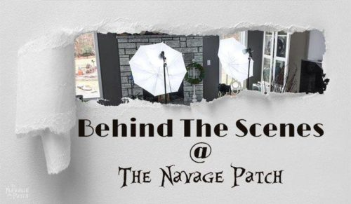 Behind the Scenes ~ Navage Patch