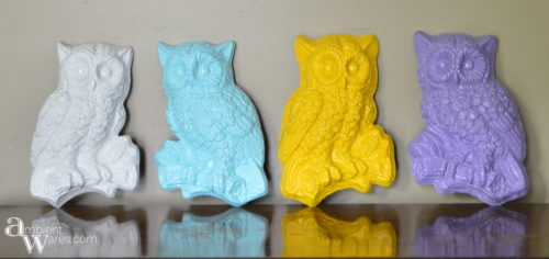 Rummage_Sale_Finds_and_A_Quick_Refurbished_Vintage_Owl_Wall_Hanging_Project - ambientwares.com