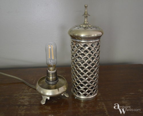 Candle Holder Base and Cover
