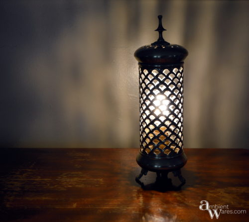 Finished Candle Holder Lamp