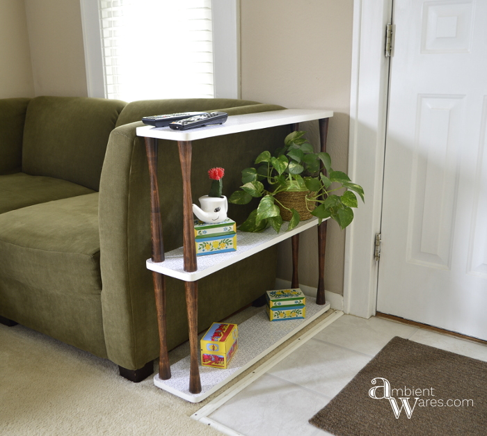 Custom 3 tier end table Featured Image