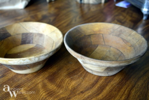 Wooden_Bowls_Rummage_Sale_Finds_and_A_Quick_Refurbished_Vintage_Owl_Wall_Hanging_Project - ambientwares.com
