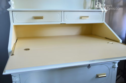 DIY_Refurbished_Painted_Furniture_Secretary_Desk_Open_Desk_ambientwares.com
