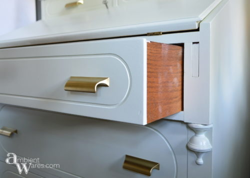 DIY_Refurbished_Painted_Furniture_Secretary_Desk_Open_Drawer_ambientwares.com