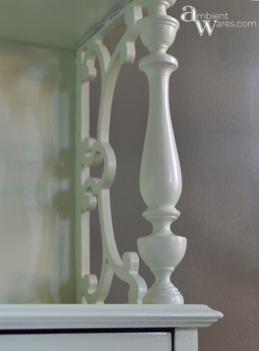 DIY_Refurbished_Painted_Furniture_Secretary_Desk_Ornate_Spindle_ambientwares.com