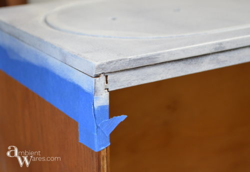 DIY_Refurbished_Painted_Furniture_Secretary_Desk_Taped_Off_Drawers_ambientwares.com