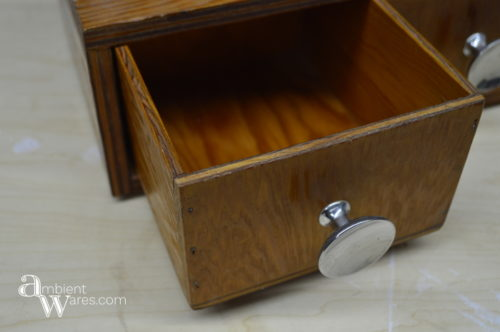 A Simple 2 Drawer Wooden Box Makeover With An Easy Retro Design Side