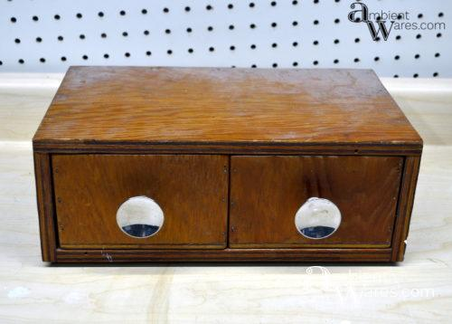 Small Wooden Box Makeover With A Retro Design