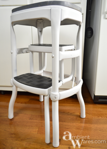 Vintage Cosco Step Stool Gets A Modern Farmhouse Styled