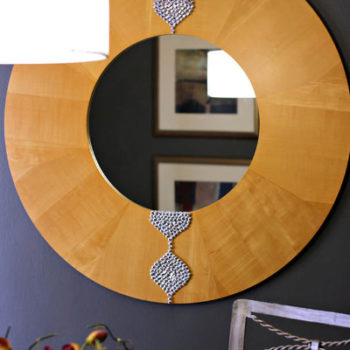 Simple Mirror Makeover