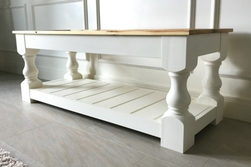 How to Build an Upholstered Bench ~ abbotsathome.com
