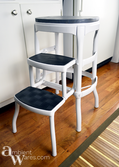 Fantastic Vintage Cosco Step Stool Gets A Modern Farmhouse Styled Gmtry Best Dining Table And Chair Ideas Images Gmtryco