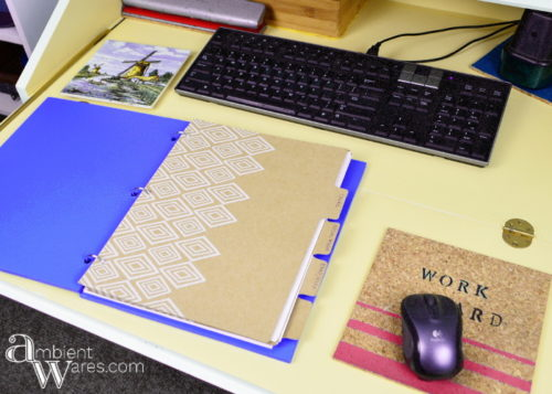 How to Make Your Very Own Wooden Binder! For this and more great ideas, visit AmbientWares.com!