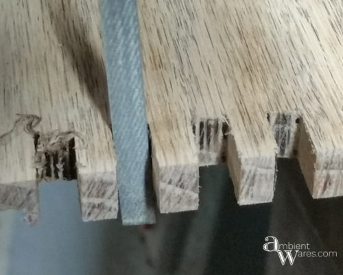 How to Fix a Broken Drawer Side with Dovetails Using a Bandsaw. For this and more clever DIYs and crafts, visit AmbientWares.com